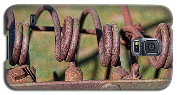Galaxy S5 Case featuring the photograph Farm Equipment 7 by Ely Arsha