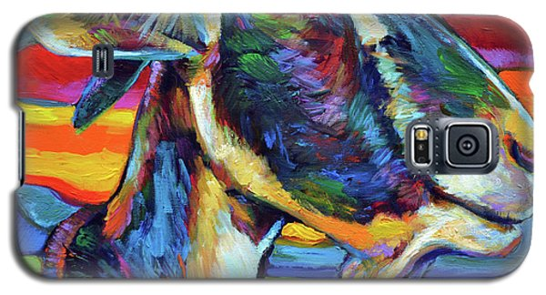 Farm Goat Galaxy S5 Case by Robert Phelps