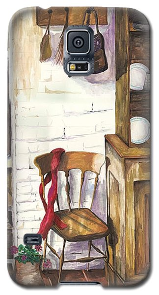 Galaxy S5 Case featuring the painting Farm House by Darren Cannell