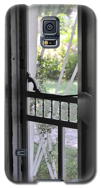 Farm House Screen Door Galaxy S5 Case by Wilma  Birdwell