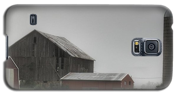 0011 - Farm In The Fog II Galaxy S5 Case