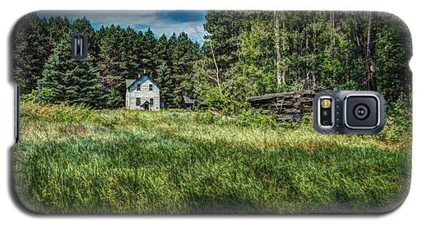 Farm In The Woods Galaxy S5 Case