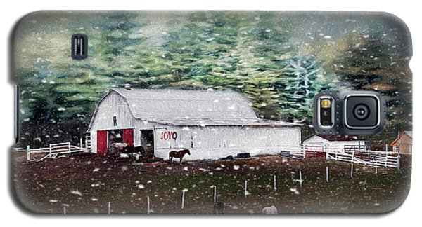 Galaxy S5 Case featuring the photograph Farm Life by Darren Fisher