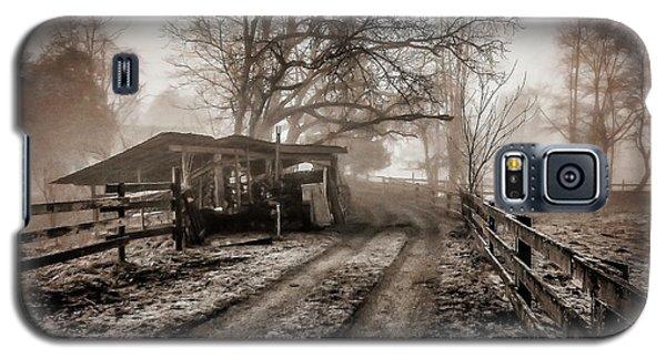 Farm Road Late Autumnl. Galaxy S5 Case