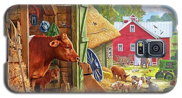 Farm Scene In America Galaxy S5 Case