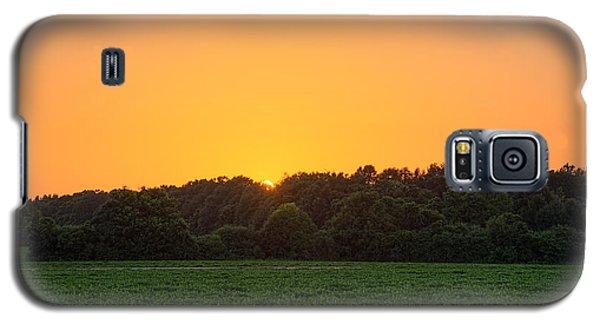 Farm Sunset Galaxy S5 Case