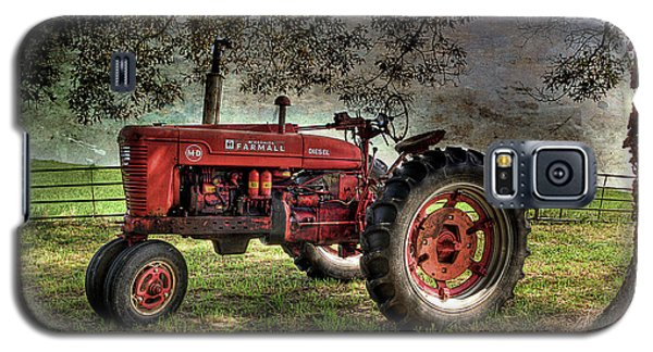 Farmall In The Field Galaxy S5 Case