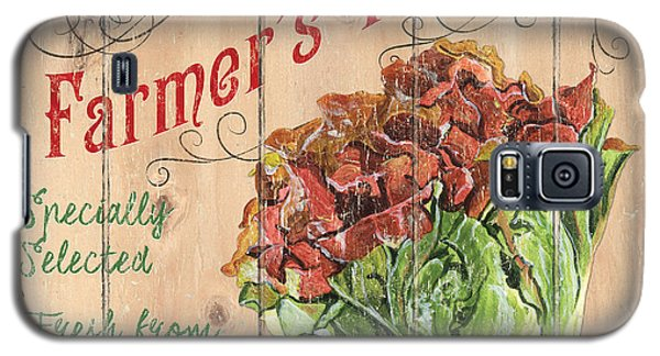 Farmer's Market Sign Galaxy S5 Case by Debbie DeWitt