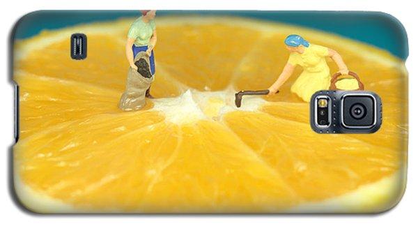 Farmers On Orange Galaxy S5 Case