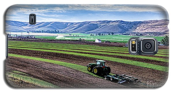 Farming In Pardise Agriculture Art By Kaylyn Franks Galaxy S5 Case