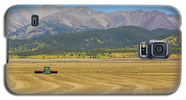 Galaxy S5 Case featuring the photograph Farming In The Highlands by David Chandler
