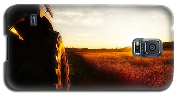Farming Until Sunset Galaxy S5 Case