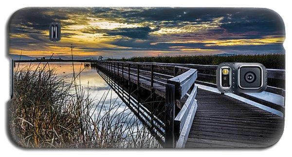 Farmington Bay Sunset - Great Salt Lake Galaxy S5 Case
