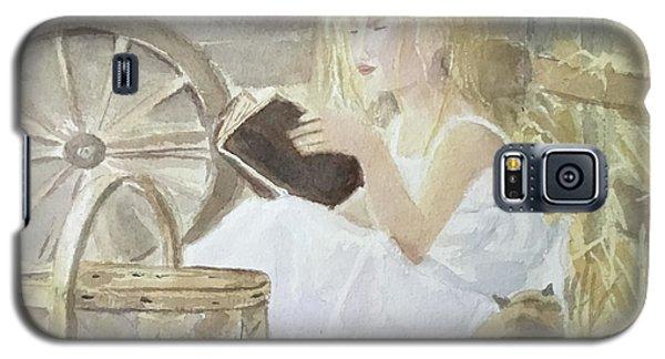 Farm's Reader Galaxy S5 Case by Annie Poitras