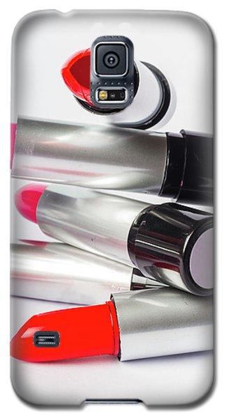 Fashion Model Lipstick Galaxy S5 Case