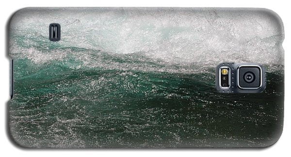 Galaxy S5 Case featuring the photograph Fast Water by Edward R Wisell