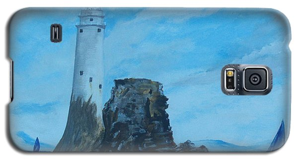 Fastnet Rock Lighthouse. Galaxy S5 Case by Conor Murphy