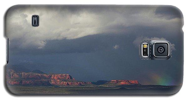 Fat Ground Rainbow, Red Rocks Sedona Galaxy S5 Case