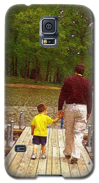 Father And Son Galaxy S5 Case