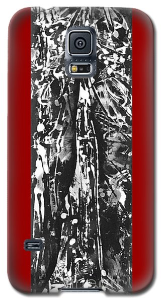 Galaxy S5 Case featuring the painting Father by Carol Rashawnna Williams