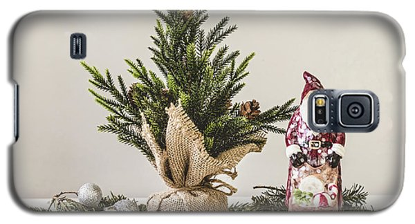 Galaxy S5 Case featuring the photograph Father Christmas by Kim Hojnacki