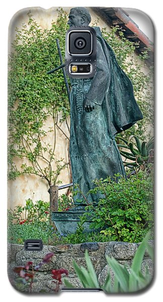 Father Junipero Serra Statue At Mission Carmel Galaxy S5 Case