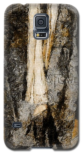 Galaxy S5 Case featuring the photograph Father's Coat by Claire Bull