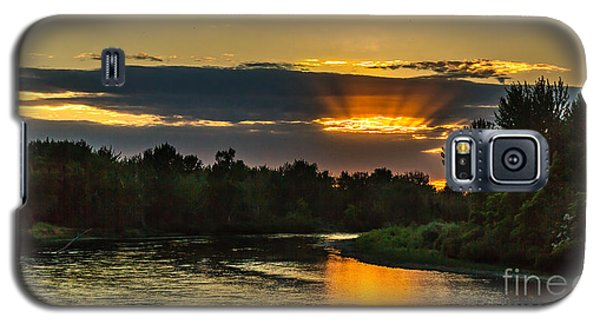 Father's Day Sunset Galaxy S5 Case by Robert Bales