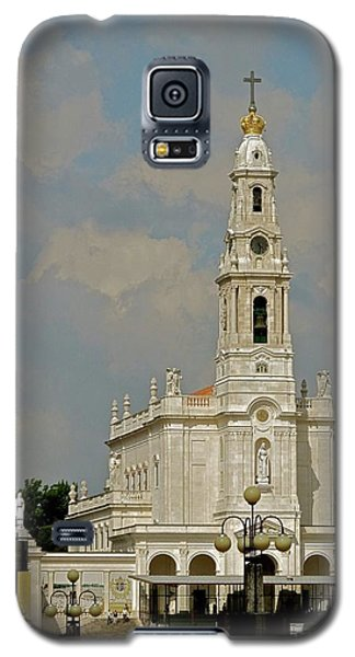 Galaxy S5 Case featuring the photograph Fatima Cathedral by Kirsten Giving