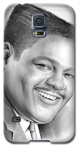 Drum Galaxy S5 Case - Fats Domino by Greg Joens
