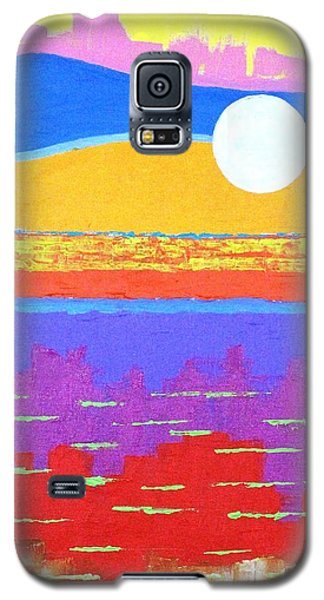 Fauvist Sunset Galaxy S5 Case by Jeremy Aiyadurai
