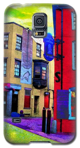 Faux Fauve Cityscape Galaxy S5 Case