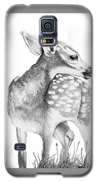 Fawn Galaxy S5 Case by Lawrence Tripoli