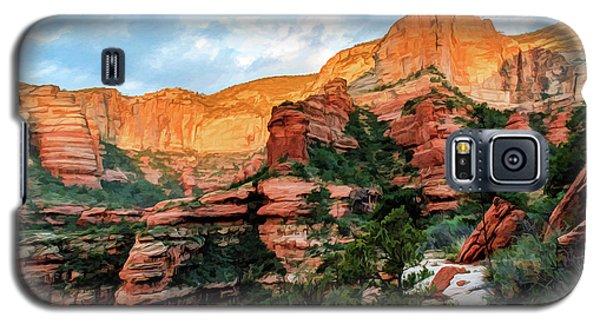 Fay Canyon 07-053 Galaxy S5 Case by Scott McAllister