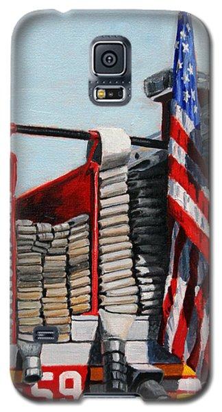 Fdny Engine 59 American Flag Galaxy S5 Case