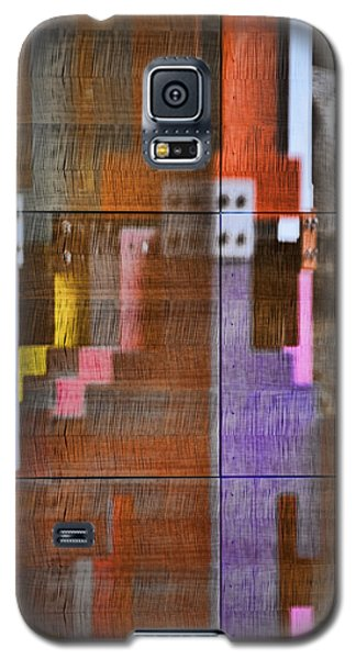 Galaxy S5 Case featuring the photograph Fearful Reflections San Francisco by Steve Siri