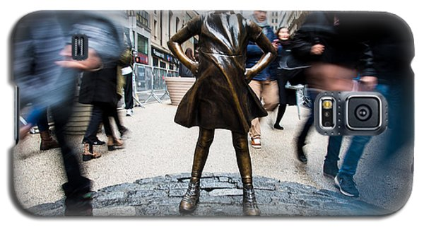 Fearless Girl Galaxy S5 Case
