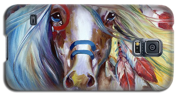 Fearless Indian War Horse Galaxy S5 Case