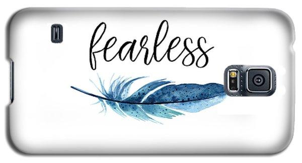 Galaxy S5 Case featuring the digital art Fearless by Jaime Friedman