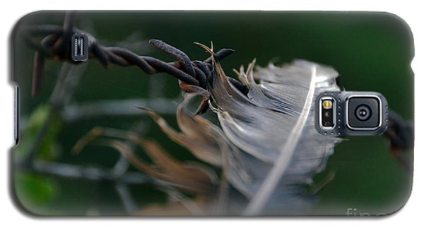 Feather And Barbed Wire Galaxy S5 Case