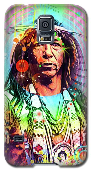Feather Chief Galaxy S5 Case by Gary Grayson