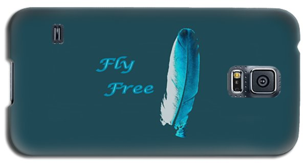 Feather Of Free Flight Galaxy S5 Case