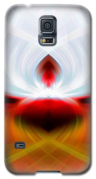 Feathered Galaxy S5 Case by Cherie Duran