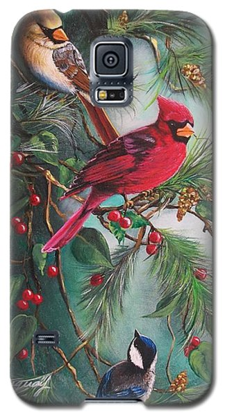 Feathered Friends  Galaxy S5 Case