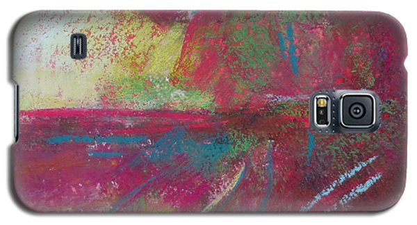 Feathering Galaxy S5 Case