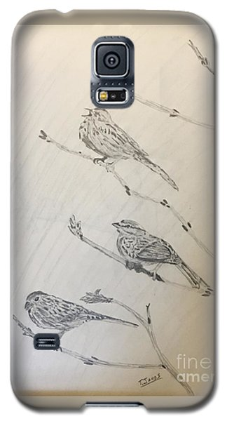 Feathers Friends Galaxy S5 Case