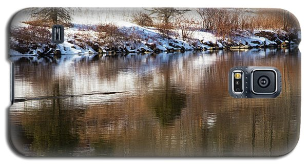 Galaxy S5 Case featuring the photograph February Reflections by Karol Livote