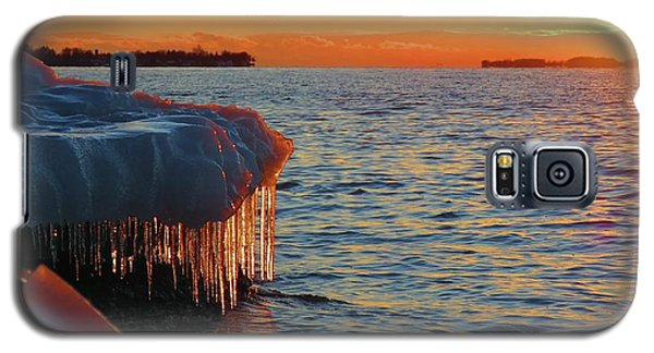 Feburary Sunset Cape Vincent Galaxy S5 Case