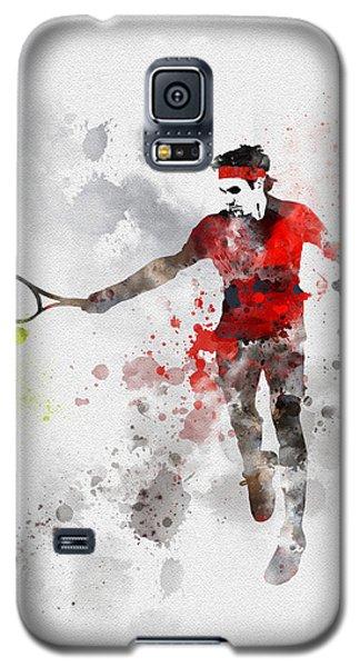 Federer Galaxy S5 Case by Rebecca Jenkins
