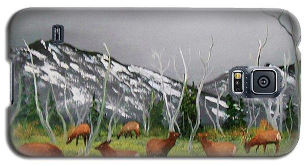 Feeding Elk Galaxy S5 Case